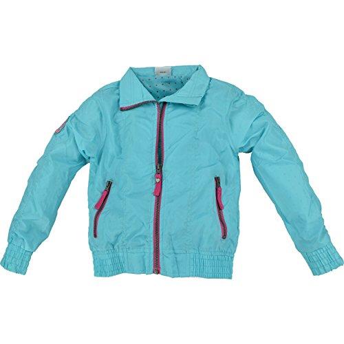 Kaiser24 Atmungsaktive Regenjacke für Kinder, Winddicht und schmutzabweisend (134/140, türkis)