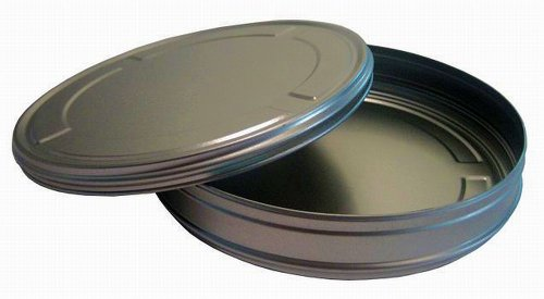 3 Stück Filmdosen Kronenberg24 Filmdose Geschenkverpackung aus Metall XL 160 x 31 mm