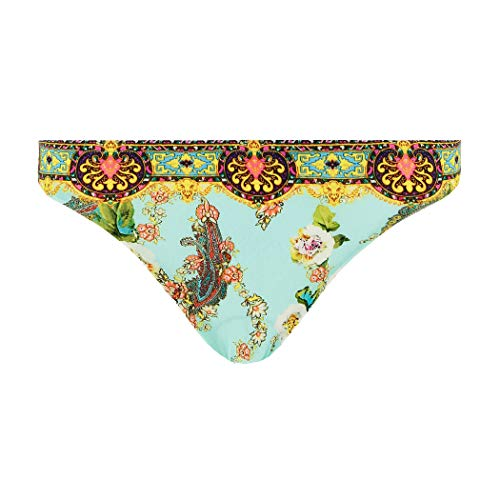 Lise Charmel, Damen Bikini Slip, Fleurs Lagon ABA0423 (34, Lagon Azur)