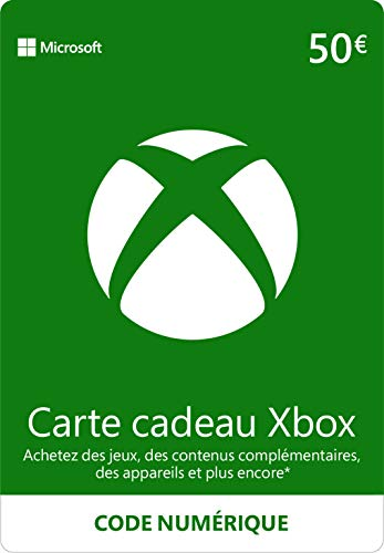 Crédit Xbox Live 50 €