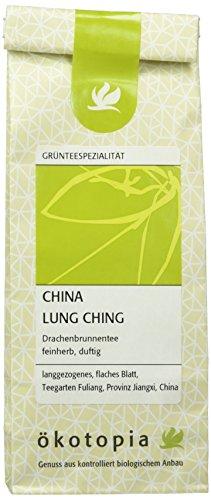Ökotopia Grüner Tee Spezialität China Lung Ching, 5er Pack (5 x 50 g)