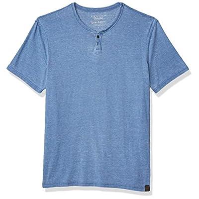 Men's Venice Burnout Notch Neck Tee Shirt