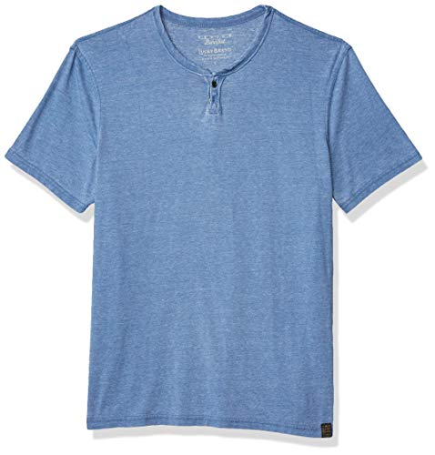 Men's Venice Burnout Notch Neck Tee Shirt 3