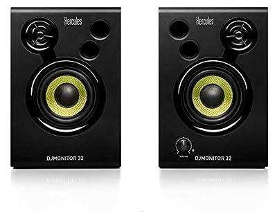 Hercules DJMonitor 32: 2 x 15 watts RMS active monitoring speakers