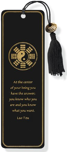 Yin Yang Beaded Bookmark