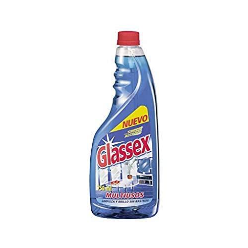 Glassex Multiuso Recambio Azul 750 ml