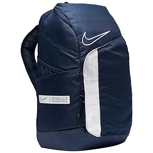 Nike Elite Pro Basketball Backpack BA6164 One Size (MIDNIGHT NAVY/WHITE/WHITE)