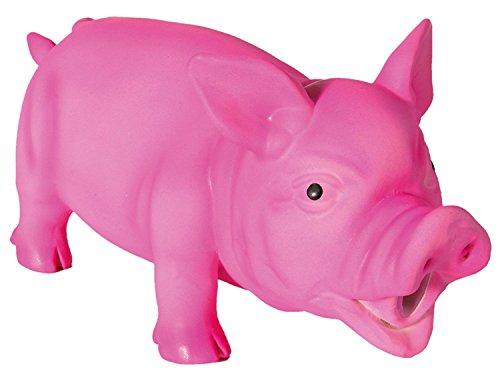 Trixie 35491 Schwein, Original-Tierstimme, Latex, 21 cm