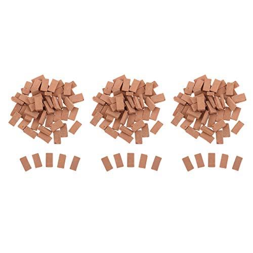 150 Stück 1/35 Backsteine Ziegelsteine Ziegel für Modellbau Eisenbahn