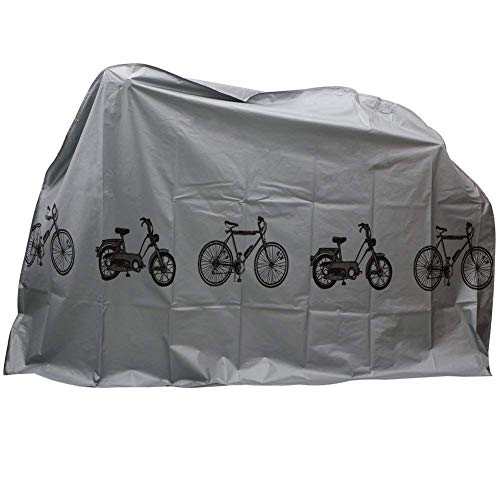 Eidoct Bike Cover Waterproof Dustproof Cover for Indoor and Outdoor Use (Grey)