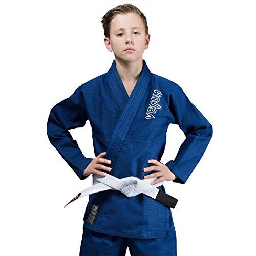 VENUM Contender, Kimono BJJ Unisex Bambini, Blu, C3