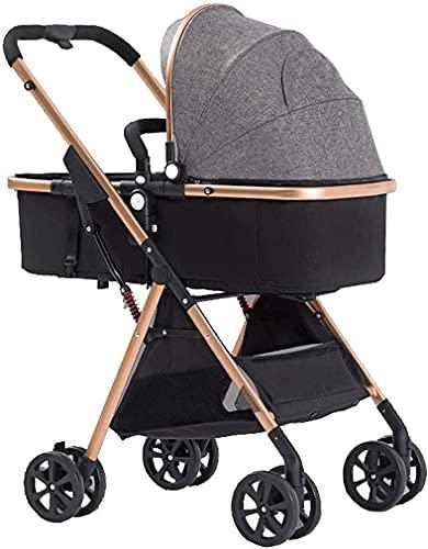 Cochecito de cochecito de cochecito de cochecito de cochecito de cochecito paraguas con cochecito de choque para recién nacidos y bebés plegables (Color : B)