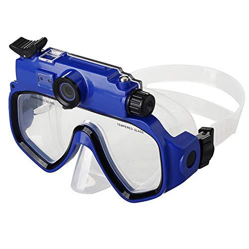 DJG 720P Unterwasser Sunglass Kamera Mit 5.0Mega Pixel CMOS-Bildsensor Und IPX8 Wasserdicht Unter 30 Meter Tiefe Für 3 Stunden,Blau