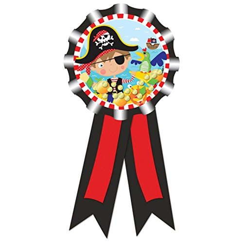 1 Médaille ruban de fête - Petit pirate