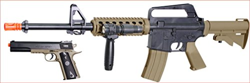 Soft Air COLT RIS Spring Rifle and Pistol On-Duty...