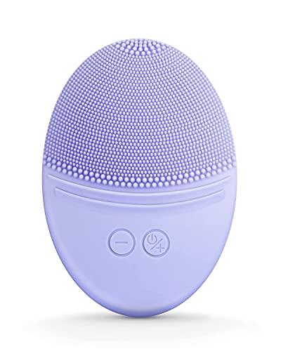 Cepillo De Limpieza Facial, Cepillo De Cara Vibrante A Prueba De Agua para Limpieza Profunda, Exfoliación Suave Y Masaje, Carga Inductiva