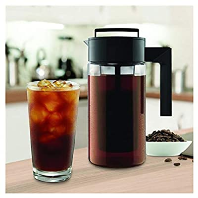 900ML Cold Brew Iced Coffee Maker With Airtight...