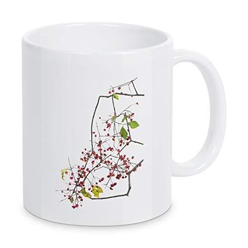 artboxONE Tasse Pfaffenhut von Tan Kadam - Kaffeetasse Floral
