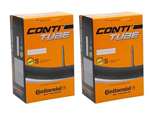 2 Stück 26 Zoll Continental Fahrrad Schlauch MTB City 47/62-559 SV42 Sclaverand Ventil Tube