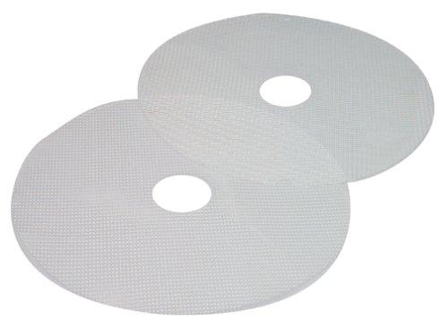 Nesco MS-2-6 Clean-a-Screen for Dehydrators FD-1010/FD-1018P/FD-1020, Large, Set of 2