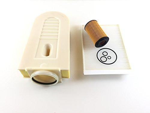 Ölfilter Luftfilter Pollenfilter M-Klasse 166 ML 250 CDI