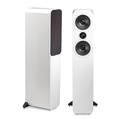Q Acoustics 3050 Floorstanding Speakers (Pair) (Gloss White) from Q Acoustics