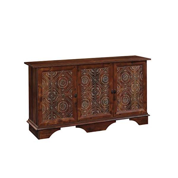 Sauder Viabella Storage Cabinet, L: 59.06″ x W: 153.15″ x H: 31.54″,...
