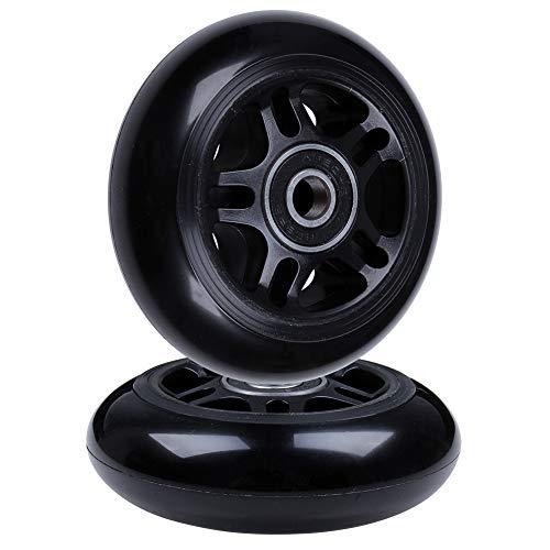 AOWISH Inline Skate Wheels (2-Pack w/Bearings ABEC-9) Luggage Suitcase...