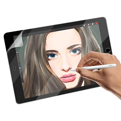 OJOS Screen Protector Compatible with iPad 9.7 Inch 2018 & 2017 Paper Texture Film Screen Guard (Matte Finish)