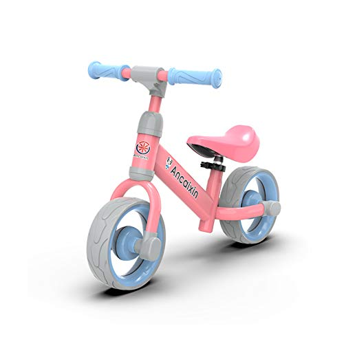 YGJT Kids Balance Bike Riding Toys for 3-6 Year Old Boys Girls Indoor Outdoor Toddler Bike Christmas Birthday Gifts (Pink)