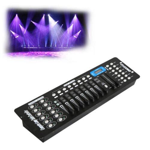 BTdahong 192 Kanäle DMX512 Controller Konsole DMX-Lichtsteuerpult Steuerung Rack für LED Bühnenlicht Lichtsteuerungen Disco Party