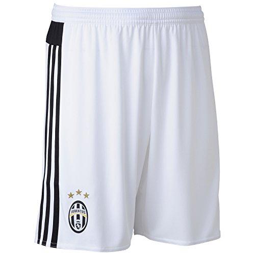 Adidas Juventus 15/16 Domicile - Short de Foot - Blanc/Noir - taille XS