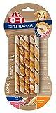 8in1 Triple Flavour Twisted Sticks, Bastoncino da Masticare Attorcigliato per Cani di Piccola Taglia, 1 Confezione da 10 Pezzi, 70 g
