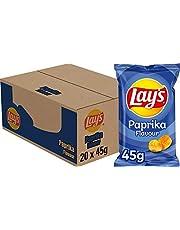 Lay's Chips Paprika, Doos 20 stuks x 45 g
