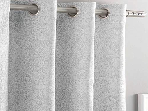 Antilo Fundeco - Cortina BORATI Cama 140x260 cm - Color Gris