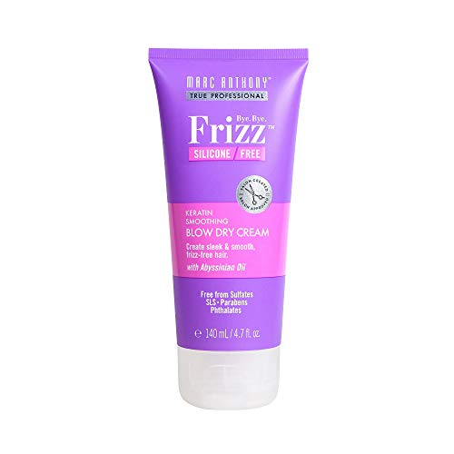 Marc Anthony True Professional Bye Bye Frizz Keratin Smoothing Blow Dry Cream, 4.7 Ounces