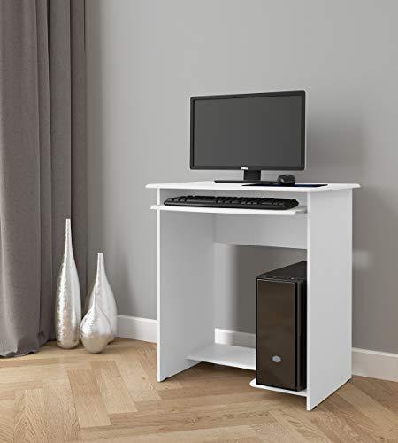 Mesa para Computador Prática EJ Móveis Branco