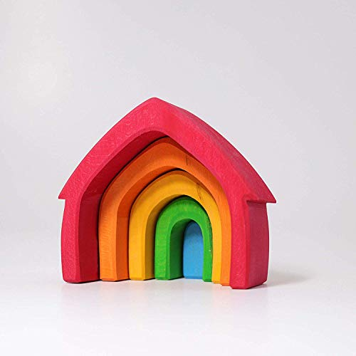 Jouet de construction empilable Maison