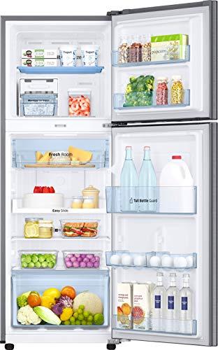 Samsung 253L 3 Star Inverter Frost Free Double Door Refrigerator (RT28T3743S8/HL, Elegant Inox, Convertible) 4