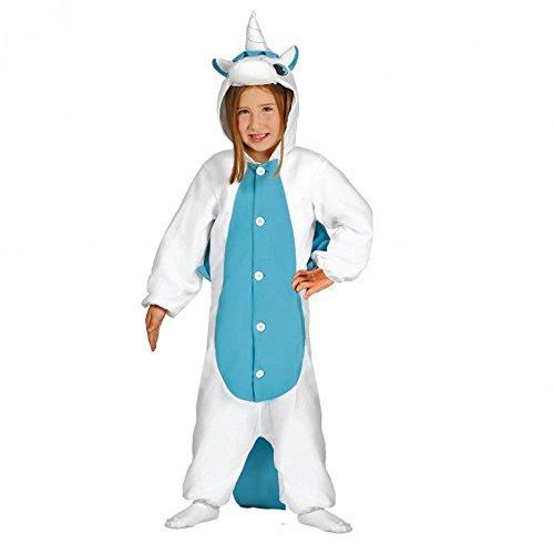 Guirca 87634 Einhorn Schlafanzug für Kinder, Größe 7-9 Jahre
