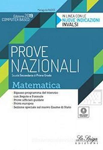 Prove nazionali mateamtica. Per la Scuola media