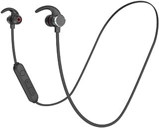 UKCOCO Magnetisk öronsnäcka hörlurar öronkrok hörlurar halsband hörlurar med magnetisk anslutning sport stereo mässing hör...