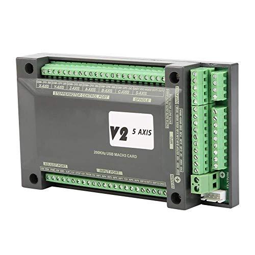 YBB-YB YankimX Tarjeta de Control de Movimiento MACH3, Tarjeta de la Tarjeta de Interfaz de 5 Ejes CNC MACH3 Controlador USB for Motor Paso a Paso Motores de Arrastre