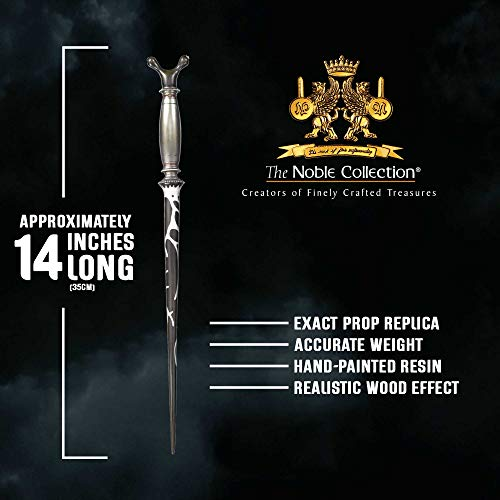 The-Noble-Collection-Professor-Horace-Slughorn-Character-Wand-137in-35cm-Harry-Potter-Wand-With-Name-Tag-Harry-Potter-Film-Set-Movie-Props-Wands