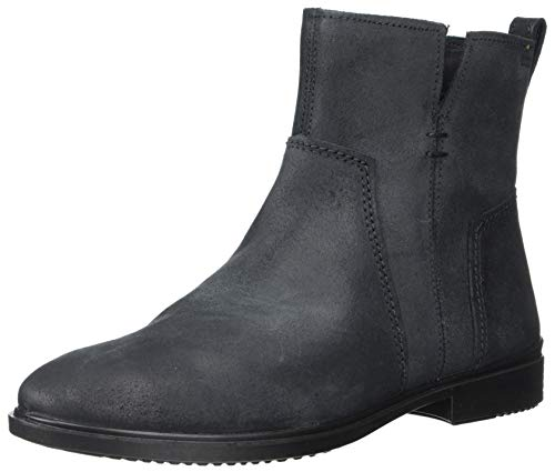 ECCO Women's Touch 15 Ankle Boot, Black Suede, 39 M EU (8-8.5 US)