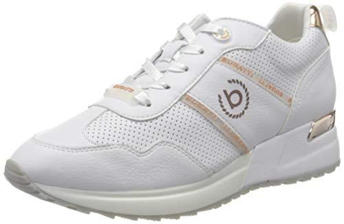 bugatti Damen 411772035059 Sneaker, Weiß (White/Metallic 2090), 37 EU