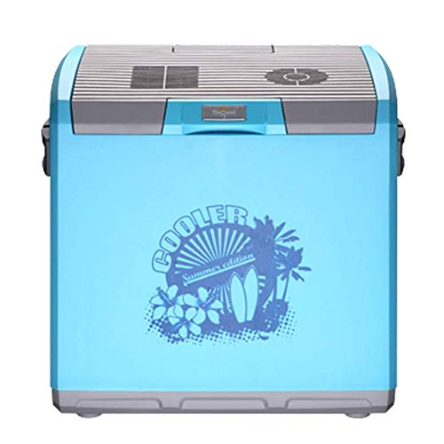 YLLN 30L compresor de automóvil refrigerador refrigerador para automóvil y hogar Mini refrigerador Caja de calefacción y refrigeración refrigerador para automóvil 24V / 12V / 220V
