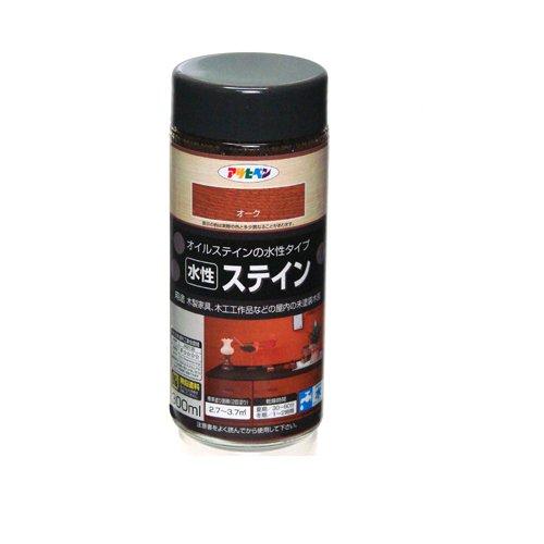 アサヒペン 水性ステイン 300mL (オーク) 9010529