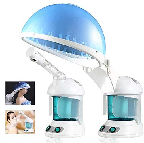 LQ&XL Visage Steamer - Facial Steamer 2 In 1 Hair Therapy Steamer Salon Maison Ozone À La Vapeur Ion Peau Beauté Soins Atomiseur, Traitement Thermique Pour Soins Capillaire