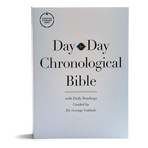 CSB Day-by-Day Chronological Bible, TradePaper, Black Letter